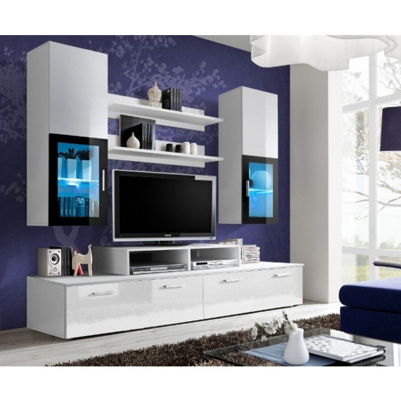 Latest Modern Tv Wall Units For Modern Wall Units, Contemporary Wall Unit – Conceptmueble (View 3 of 15)
