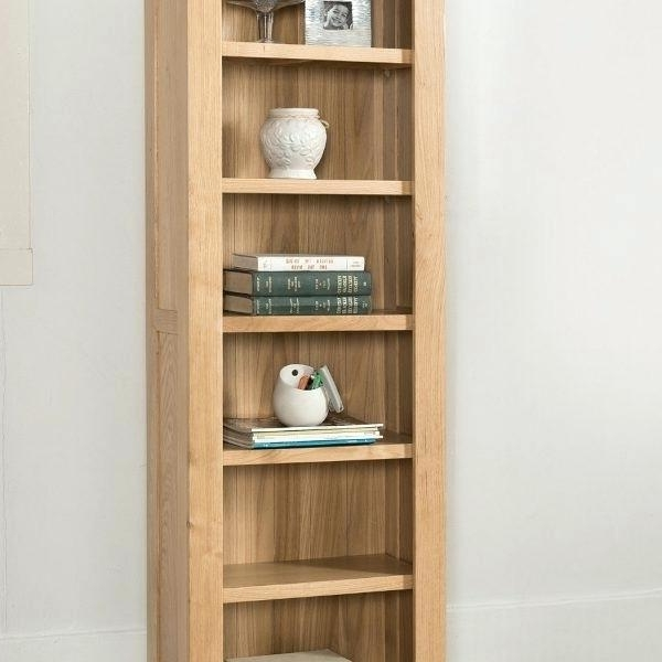 Latest Open Oak Bookcase Shelving Unit Solid Wood For Bookcases Plans 6 Within High Quality Bookcases (View 9 of 15)