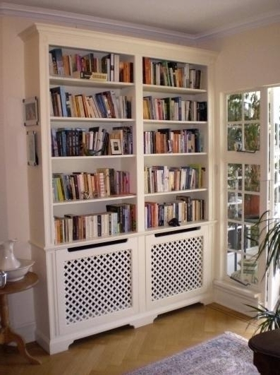 Latest Radiator Cover With Bookcase Radiator Cabinets With Bookcase Net With Radiator Cabinet Bookcases (View 6 of 15)