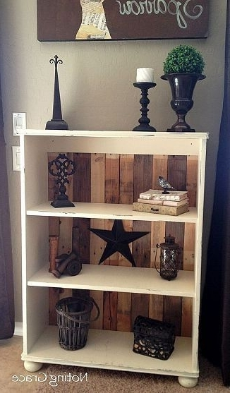 Latest Repurpose Bookcases Within Diy Pallet Bookcase (View 6 of 15)