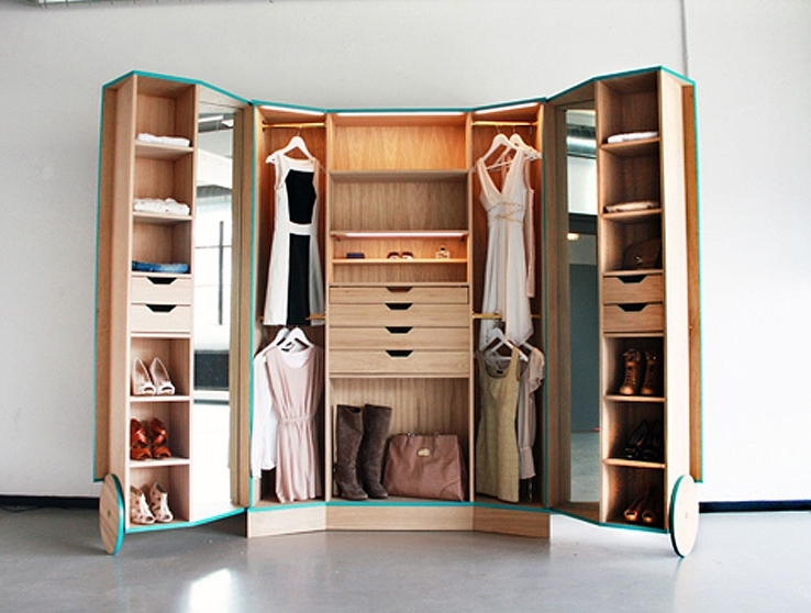 Latest Space Saving Wardrobes With Regard To Space Saving Wardrobes (View 2 of 15)