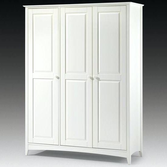 Latest Stylish Armoire White Wardrobe Home Furniture White Armoire Throughout White Wardrobes Armoire (View 14 of 15)