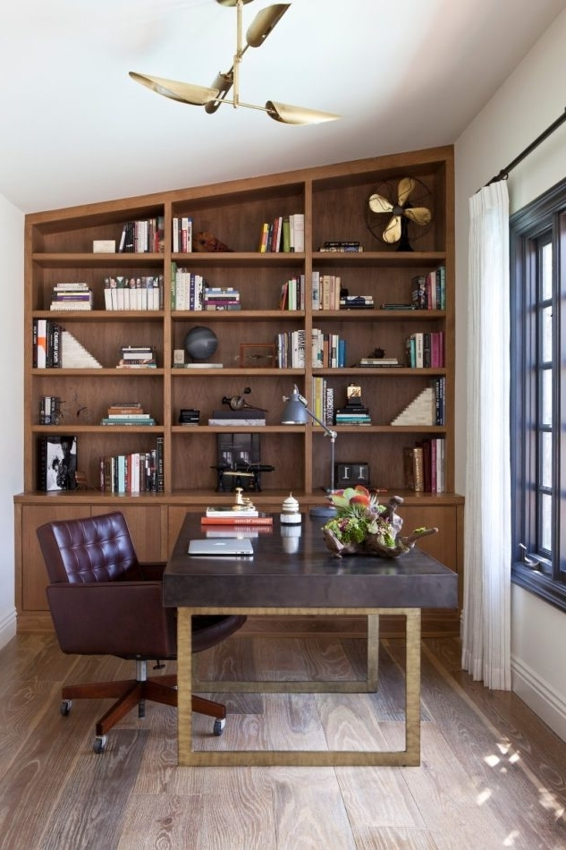 Latest Stylish Shelving And Bookcases Pertaining To Study Shelving (View 9 of 15)