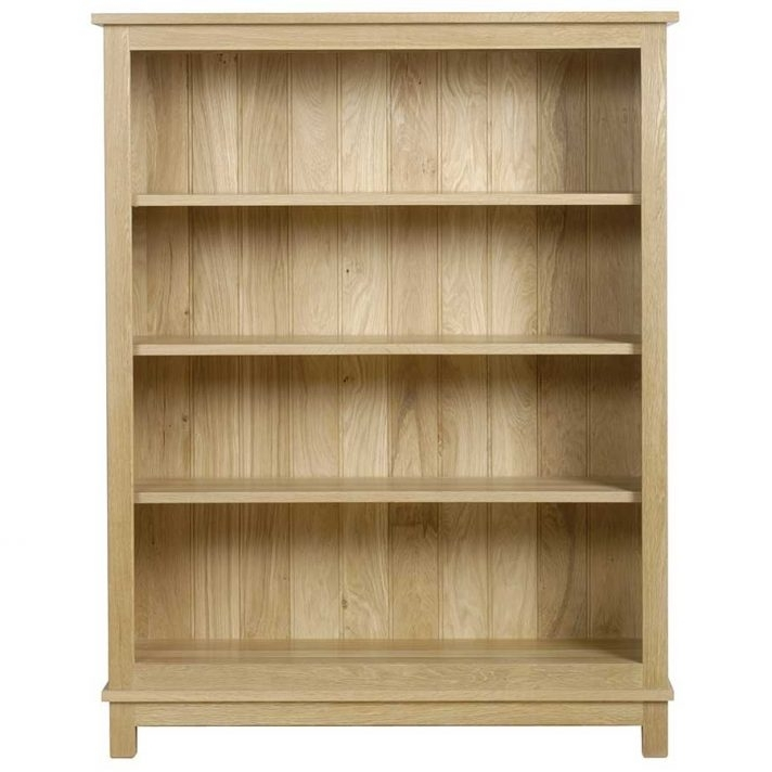 Latest Tall Shallow Bookcase Open Shelf Oak Bookshelf Interior With Doors Regarding Shallow Bookcases (View 5 of 15)