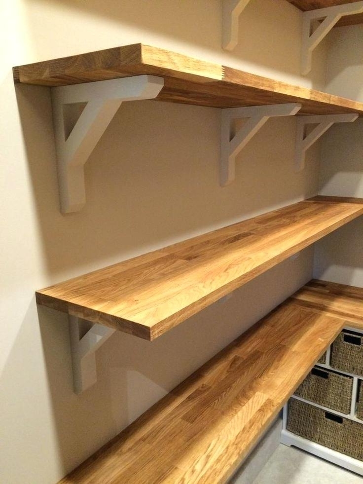 Latest Wood For Shelves With Wood Brackets For Shelves – Lamdepda (View 4 of 15)