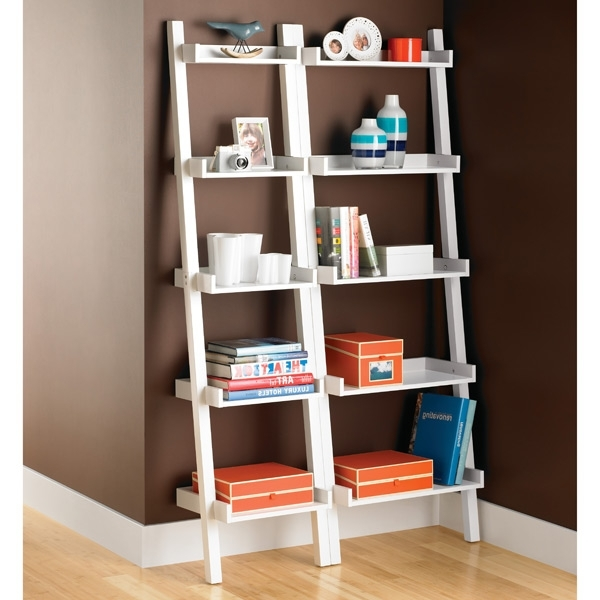 Leaning Bookcases For Best And Newest Leaning Bookshelf For Home And Libraries – Bestartisticinteriors (View 9 of 15)