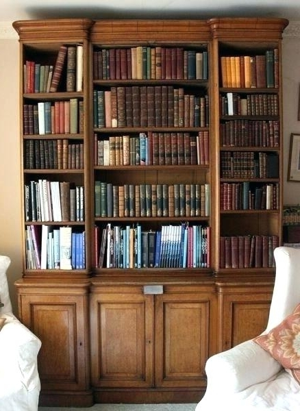 Library Bookcases White Dresser With Shelves New Library Cabinets For Most Popular Oak Library Bookcases (View 5 of 15)