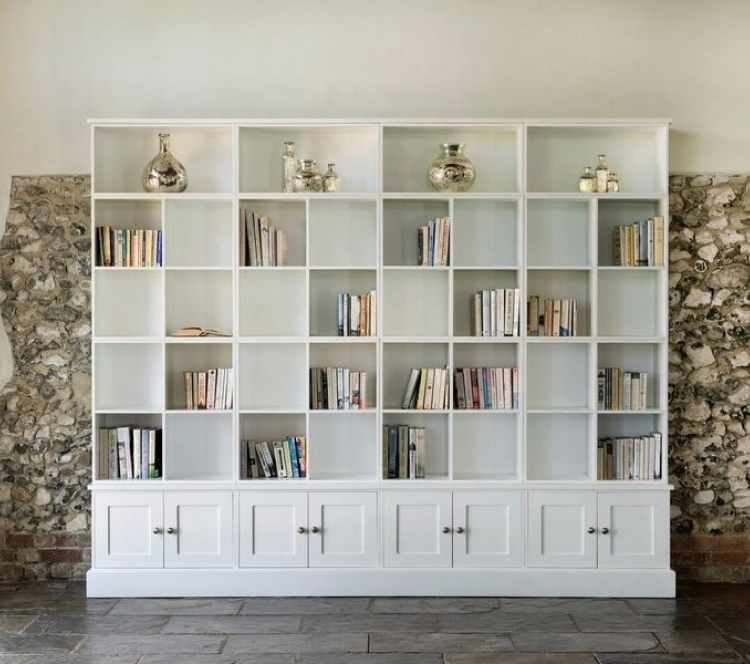 Library Of Wall Storage Units – The Dormy House With Regard To Well Known Wall Storage Units (View 1 of 15)