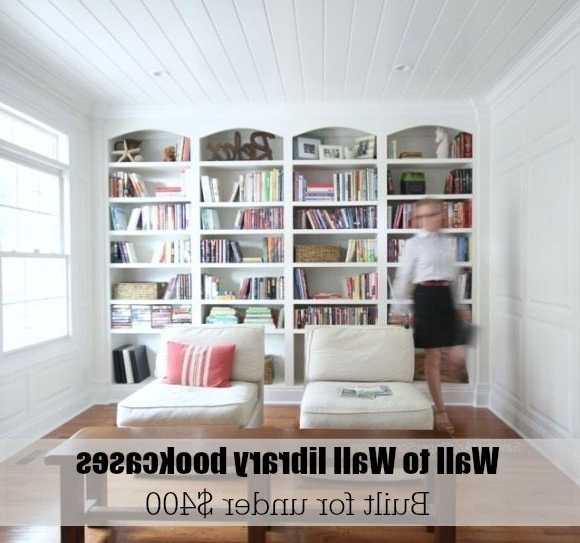 Library Wall Bookshelves Regarding Newest Library Wall To Wall Bookcases – Bookcase Plans – Sawdust Girl® (View 10 of 15)