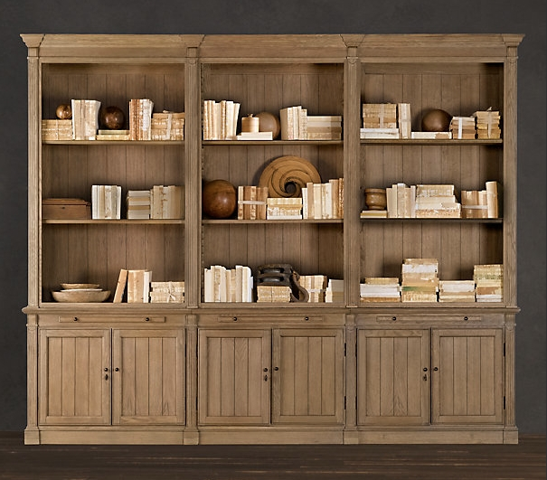 2018 Latest Bookcases Library Wall Unit