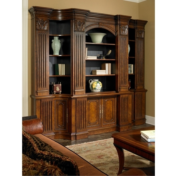 Library Wall Units Bookcases Within Fashionable Library Wall Unit – Bookcase/wall Units – Bookcase/display (View 4 of 15)