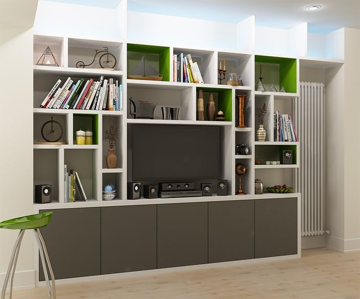 Living Room, Fitted With Regard To Most Up To Date Custom Made Shelving Units (View 8 of 15)