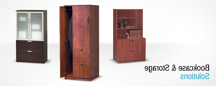Lockable Bookcases Intended For Popular Storage – Performance Office Furnishings (View 5 of 15)