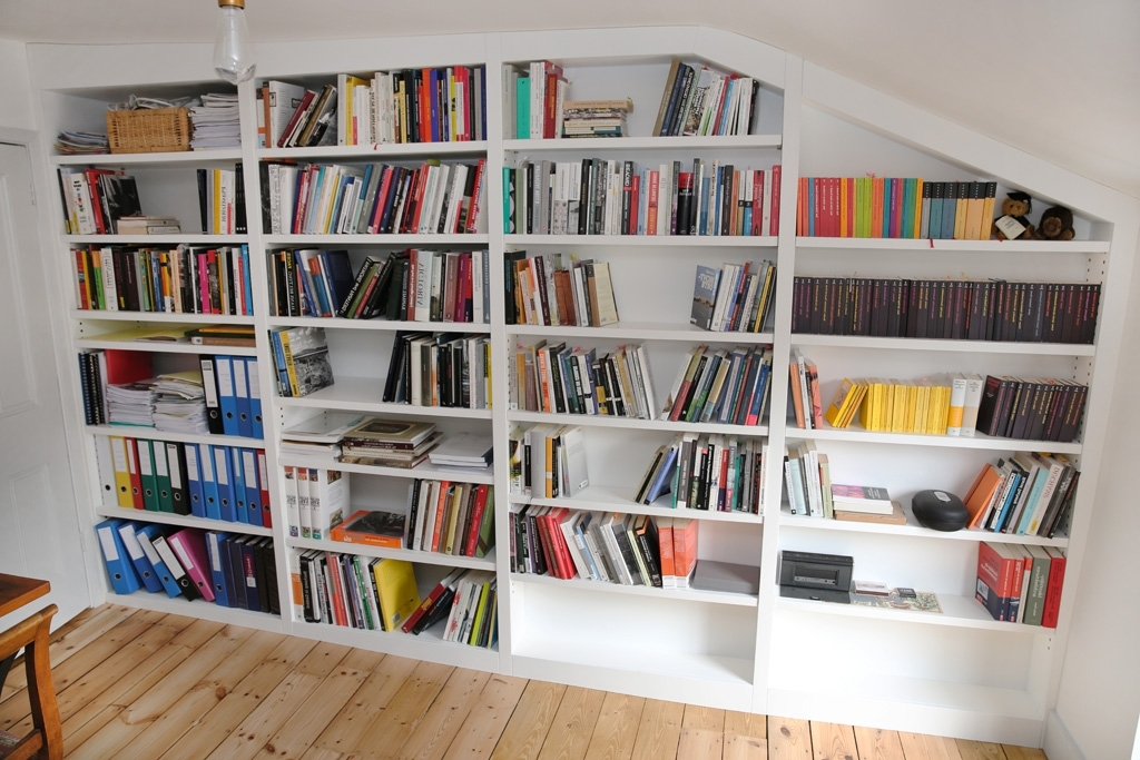 Loft Contemporary Fitted Shelving (View 2 of 15)