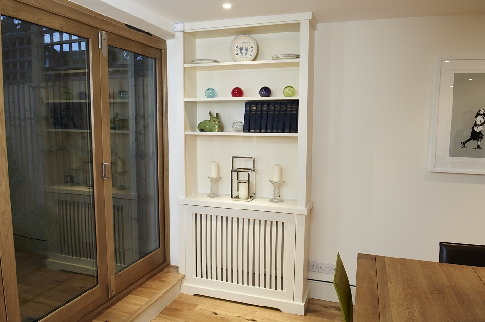 London Alcove In Radiator Cover Bookcases (View 7 of 15)