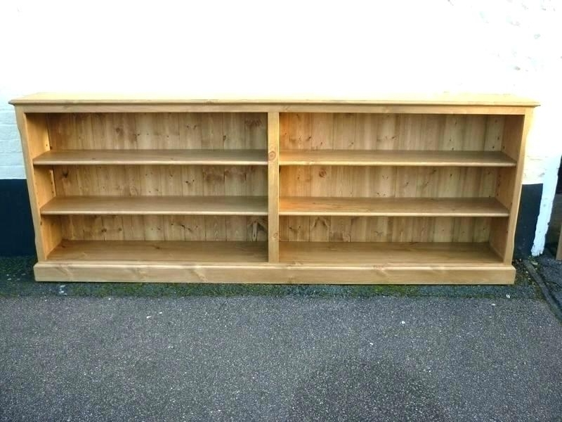 Long Bookcases With Regard To Well Liked Short Long Bookcase – Makushina (View 13 of 15)