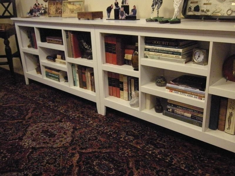 Long Horizontal Bookcases In 2018 Threshold Horizontal Bookshelves From Target – Two Units, Side (View 7 of 15)