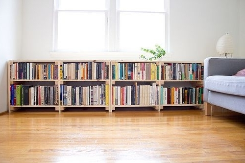Low Bookcases Inside Well Known Low Bookcase Plans Amazing Bookcases With Long Bookshelf Designs (View 7 of 15)