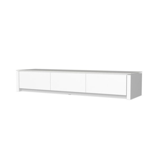 Low Media Unit Regarding Most Recently Released Calligaris Mag Low Media Storage Unit Tv Stands White Wayfair (View 7 of 15)