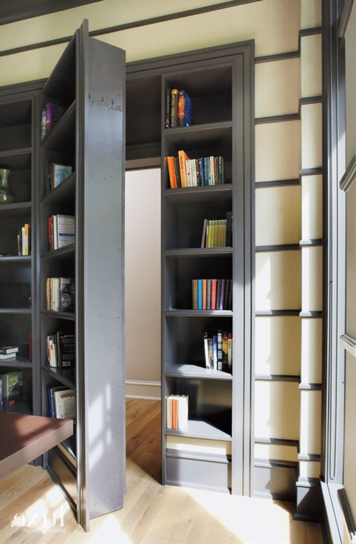 Featured Photo of Hidden Door Bookcases