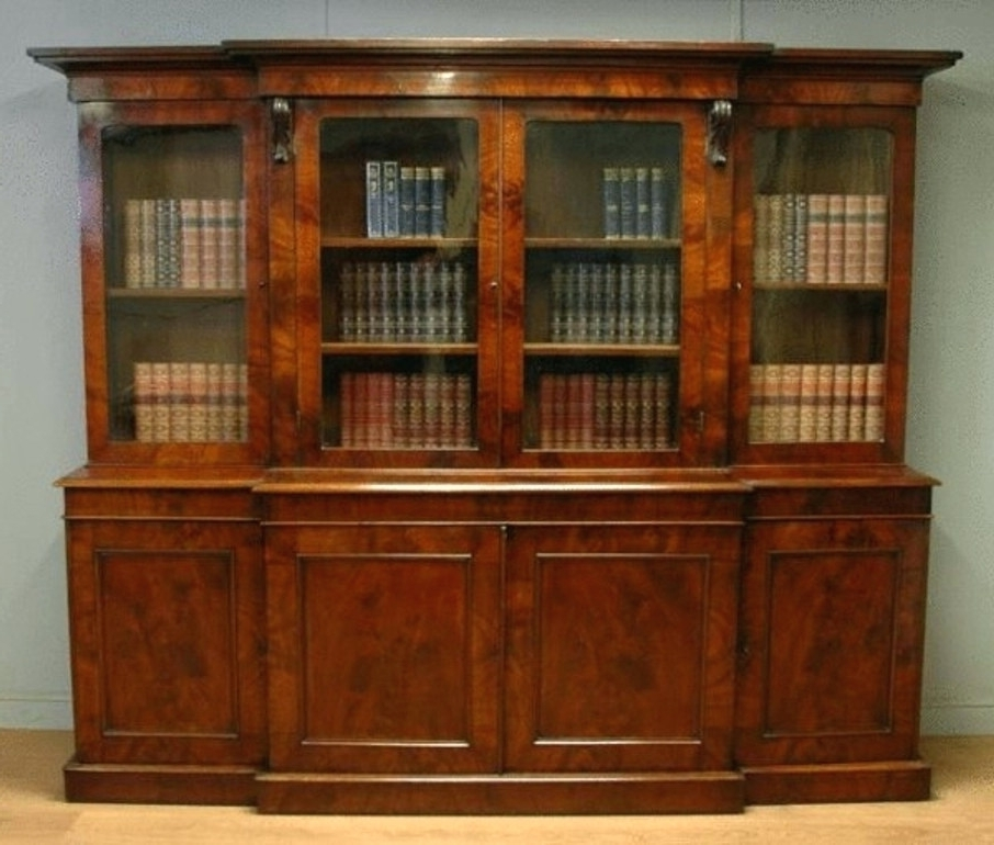 Mahogany Bookcases Pertaining To Latest Bookcase ~ 12 Mahogany Bookcase With Glass Doors Photos Library (View 7 of 15)