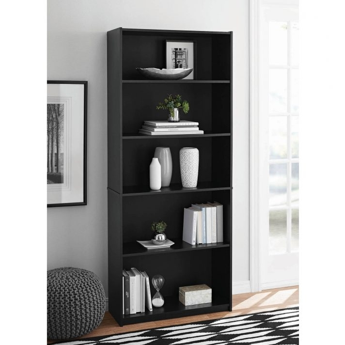 Mainstays 3 Shelf Bookcases For Most Recently Released Bookcase 98+ Astounding Mainstays 3 Shelf Black Instructions Photo (View 15 of 15)