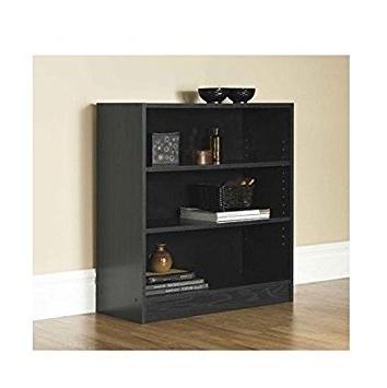 Mainstays 3 Shelf Bookcases Inside Favorite Amazon: Mainstays 3 Shelf Bookcase (View 7 of 15)