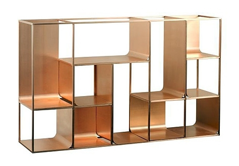 Metal Bookcases Regarding Most Current Unique Modern Bookcases For A Chic Interior (View 7 of 15)