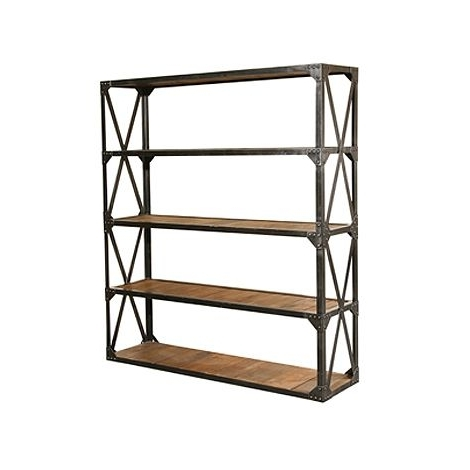 Metal Wood Bookcase; The Best Option For Durability And Style Inside Most Recently Released Metal Bookcases (View 9 of 15)