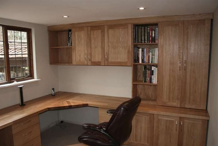 Michael Kimber Carpentry Is A Member Of Referenceline Inside Well Liked Study Cupboards (View 7 of 15)