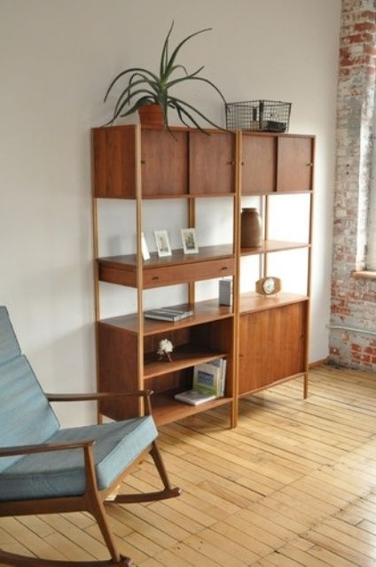 Mid Century Bookcases Regarding Favorite I Like The Shape Of This Bookcase (View 7 of 15)