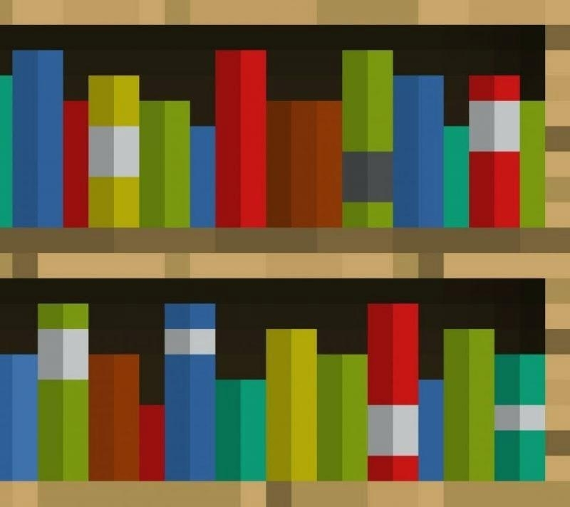 Minecraft Bookcases Regarding Newest Bookcases Minecraft – Home Decoration (View 12 of 15)