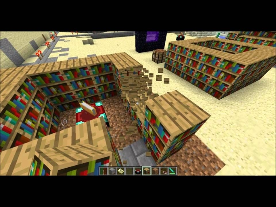 Minecraft Enchanting Best Bookshelf Layout Possible – Youtube With Regard To Favorite Minecraft Bookcases (Gallery 6 of 15)