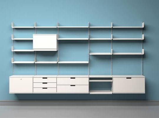 Minimalist Inside 2018 Home Shelving Systems (View 6 of 15)