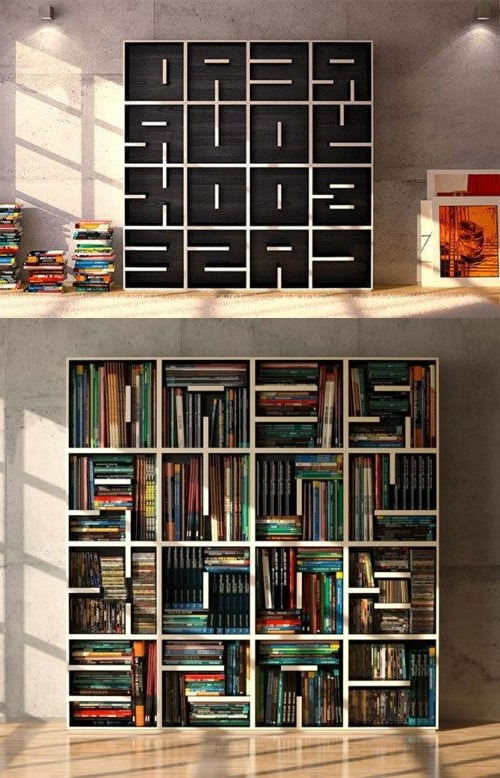 Minimalist Pertaining To Unique Bookcases Designs (View 10 of 15)