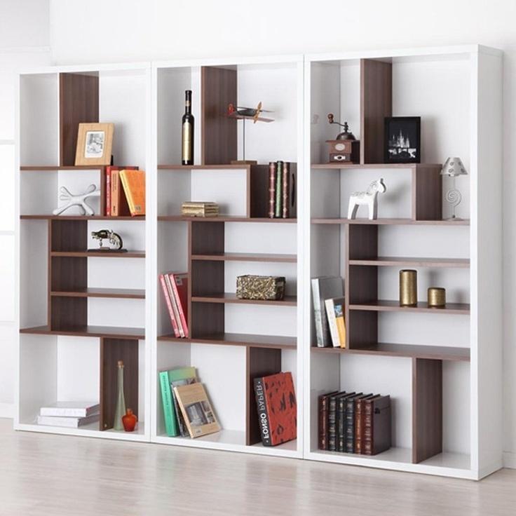 Modern Bookcases For Popular Bookshelf (View 9 of 15)