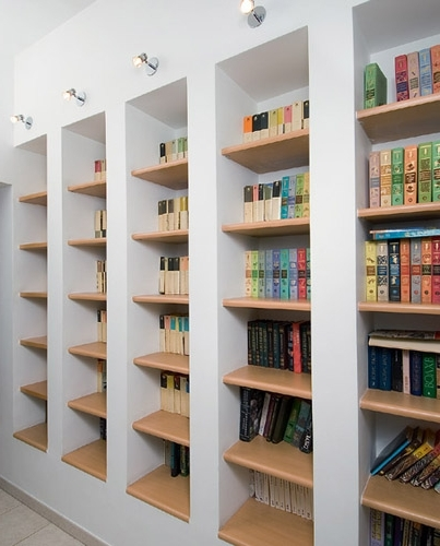 Modern Home Library Design, Lighting Ideas For Bookcases And Throughout Most Up To Date Library Bookcases Lighting (View 10 of 15)