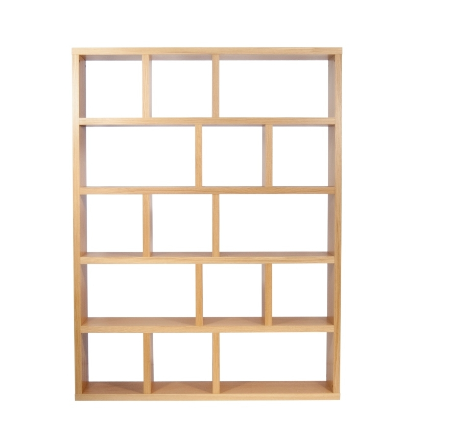 Modern Temahome Berlin 5 Level/150 Cm Shelving Unit In Oak Or In Best And Newest Contemporary Oak Shelving Units (View 11 of 15)