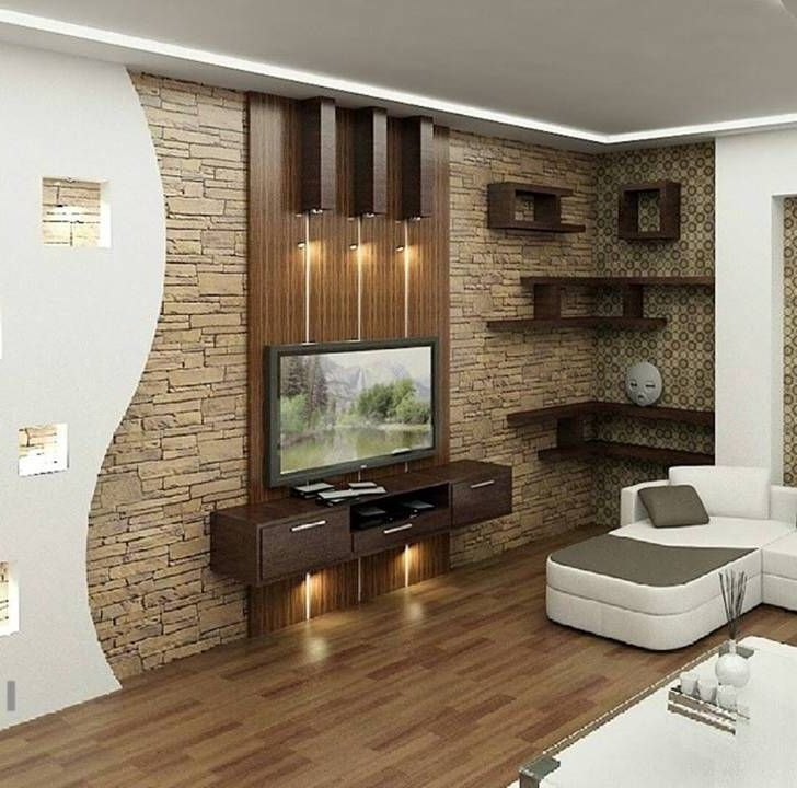 Modern Tv Room Throughout Tv Wall Units (View 6 of 15)