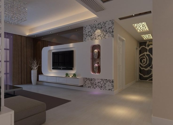 Modern Tv Room With Regard To Most Up To Date Modern Tv Wall Units (View 6 of 15)