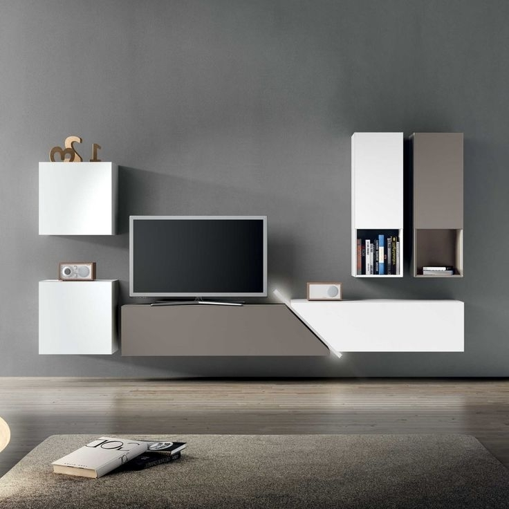 Modern Tv Wall Units Ideas On Pinterest Built In Tv Wall Unit In Most Recently Released Modern Tv Wall Units (View 7 of 15)