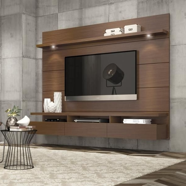 Modern Tv Wall Units Pertaining To Most Recent Best Contemporary Tv Wall Units White Contemporary Wall Units High (View 9 of 15)