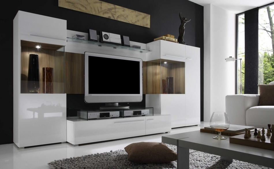 Modern Wall Units In Well Known Italian Wall Unit / Entertainment Center Va Jody C (View 5 of 15)