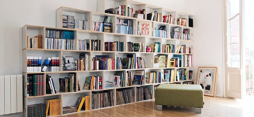 Modern White Bookcases Bookshelves – Modmobili For Preferred White Bookcases (View 4 of 15)