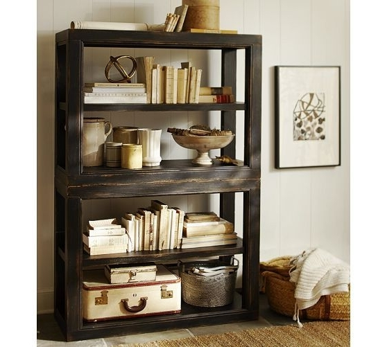 Most Current 40 Pottery Barn Bookcases, Cameron 3 Shelf Bookcase Pottery Barn For Pottery Barn Bookcases (View 1 of 15)