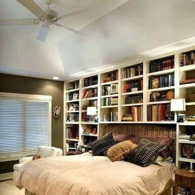 Most Current Bedroom Bookshelves Bedroom Shelves Bedroom Shelving Designs Intended For Bedroom Bookcases (View 13 of 15)