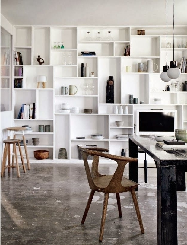 Most Current Best 25 Library Wall Ideas On Pinterest Book Wall Library Whole Pertaining To Whole Wall Shelves (View 8 of 15)