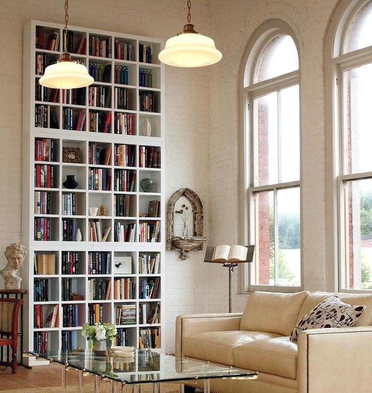 Most Current Bookcase: Very Tall Bookcase. Very Tall White Bookcase (View 2 of 15)