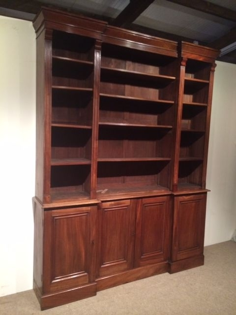 Most Current Bookcases Ideas: Amazing Mahogany Bookcase For Livingroom Solid Within Mahogany Bookcases (View 9 of 15)
