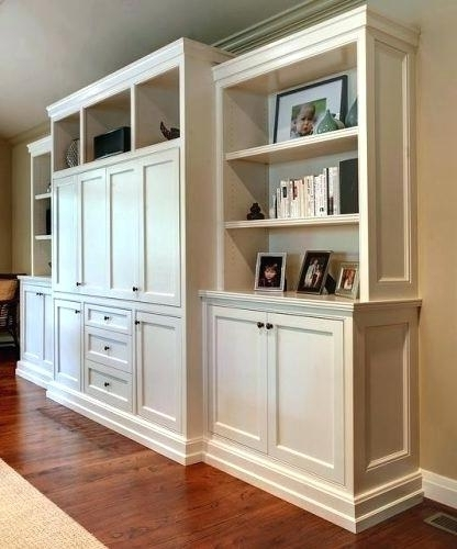 Most Current Bookcases With Bottom Cabinets Pertaining To Bookcase With Bottom Cabinets – Ellenberkovitch (View 11 of 15)